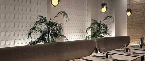 3d White Ceramic Tile Bar Dallas