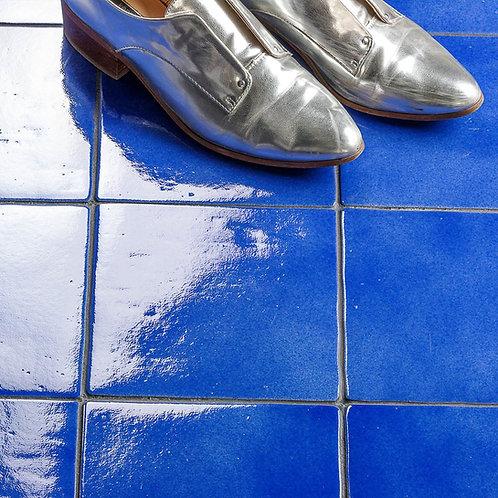 """Tavergne Cobalt 7""""x 7"""" Porcelain tile"""