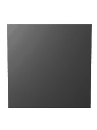 Delta L Graphite matte Ceramic 3D Square Tile Dallas