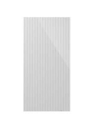 Canale L Ice White Gloss Ceramic Tile Bar