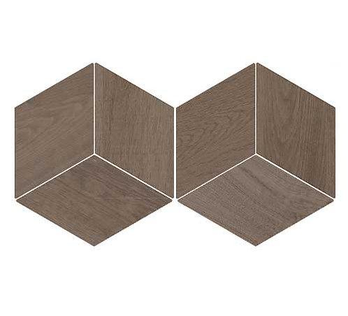 Flow Diamond Wood Dark Burlington Design Gallery