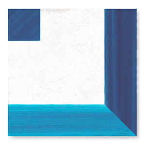 Square Decor Blue White Tile Porcelain
