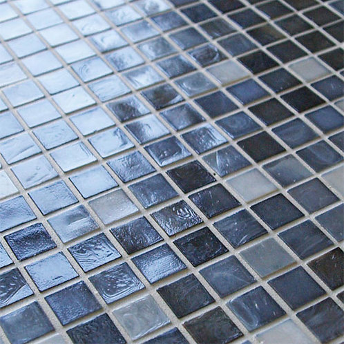 Glass Mosaic Brown Blue Pool Tile Burlington Design Gallery Dallas Design District Amara