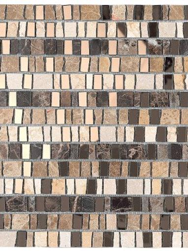 Brown Mosaic, Luxor, Dallas, Vegas, wall tile