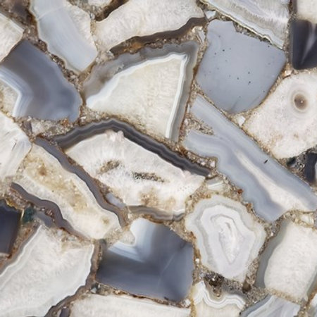 Agata De Cielo Precious Stone 2CM
