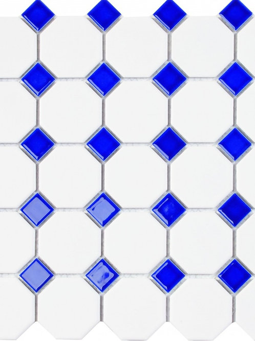 Oxford Blue Mosaic