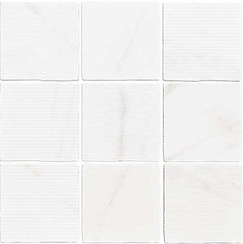 Gea Carved Calacatta Tile Burlington  Design Gallery