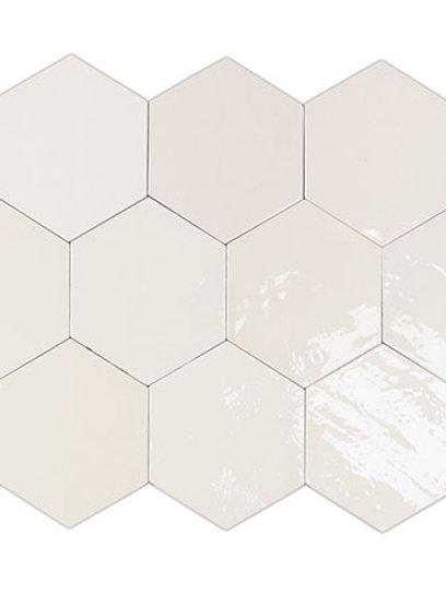 Zellige Hexa White Burlington Design Gallery Irving