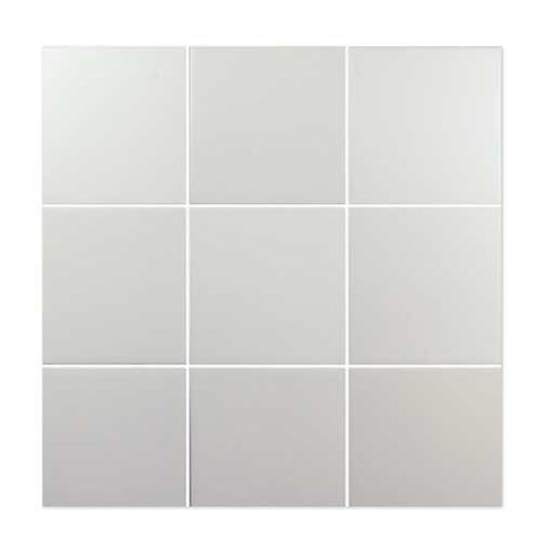 SIX WHITE PORCELAIN TILE BURLINGTON DESIGN GALLERY IRVING