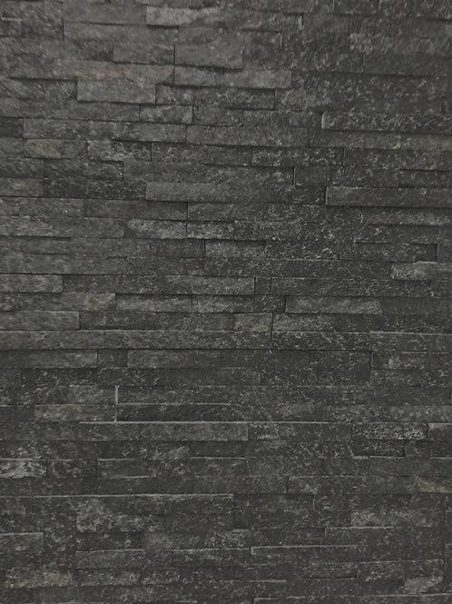 Black Manhattan Ledger Split Face