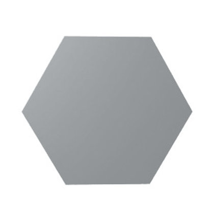 Hesh Ash Grey Matte Burlington Ceramic Gallery Tile Bar