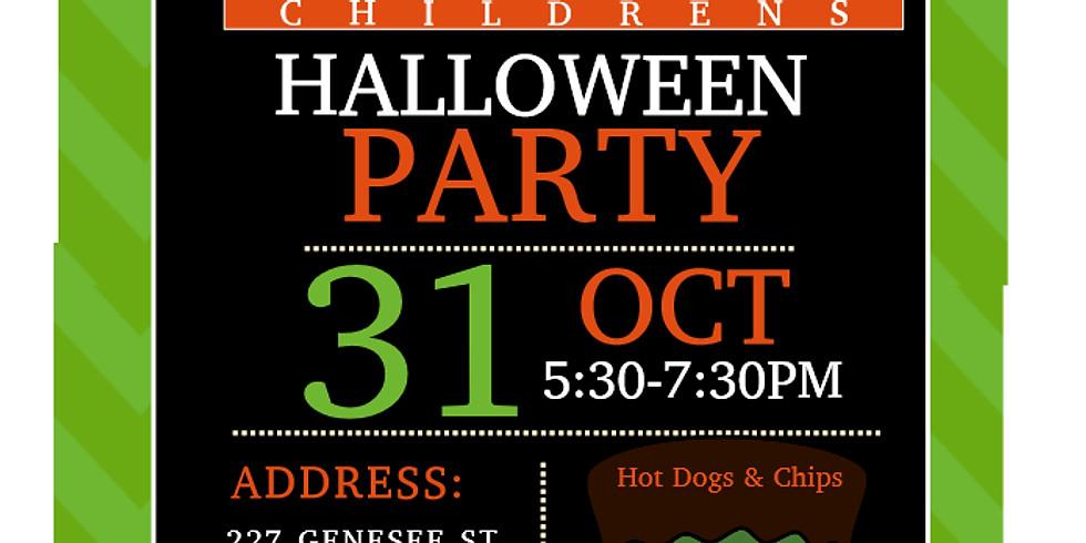Children's Halloween Party!