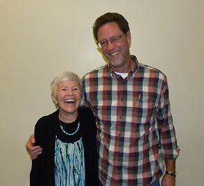 Pastor John and sister Linda Heinike