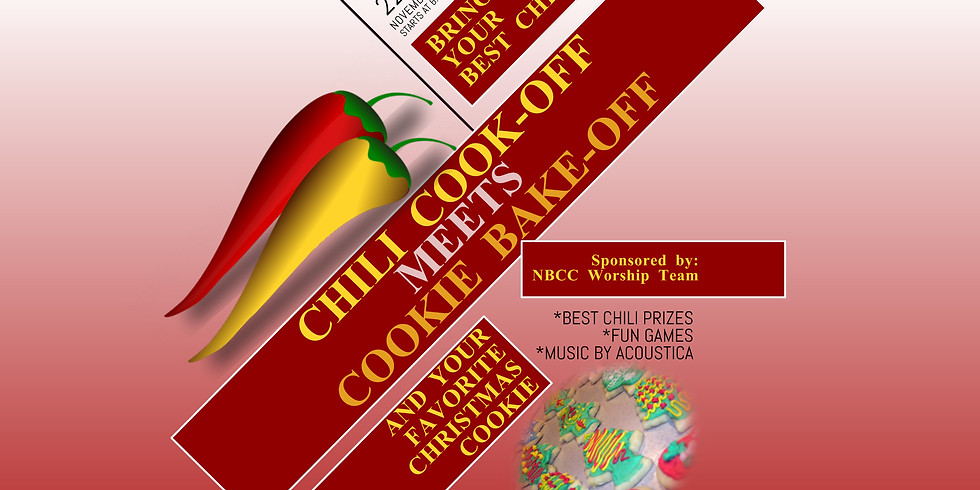 Chili Cook Off meets Cookie Bake Off!
