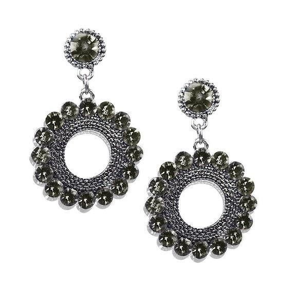 Gyre Earrings - Silver