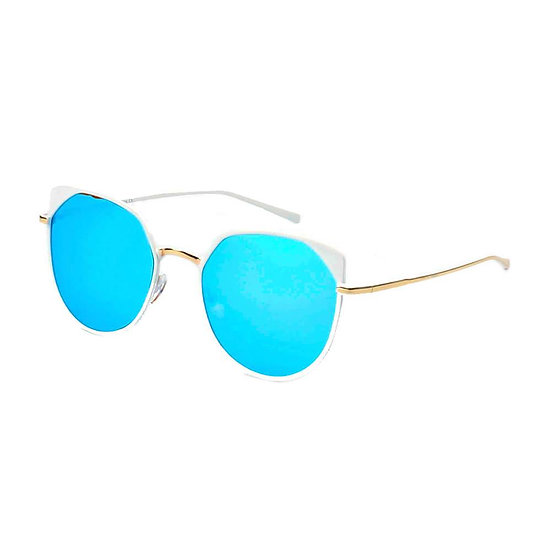 HERSHEY   A17 - Women's Flat Lens Metal Frame Cat Eye Sunglasses