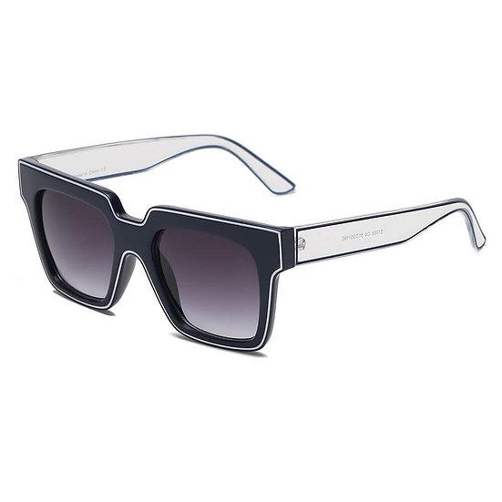 CAMDEN | S1068 - Women Retro Square Oversize Sunglasses