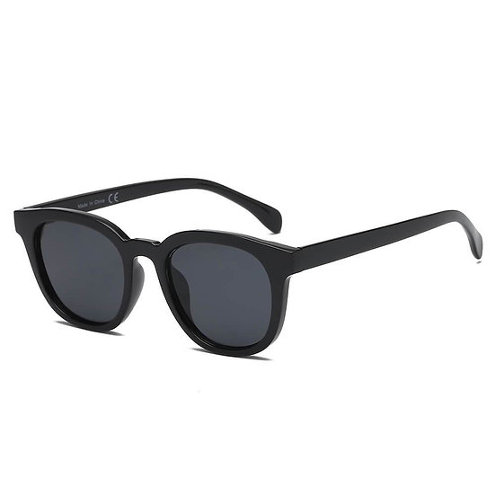 IVINS | S1073 - Women Round Horn Rimmed Fashion Sunglasses