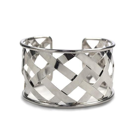 Cuffed Bracelet Silver