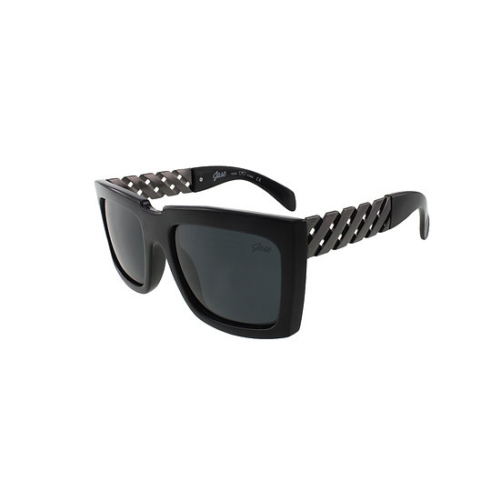 Jase New York Casero Sunglasses in Gunmetal