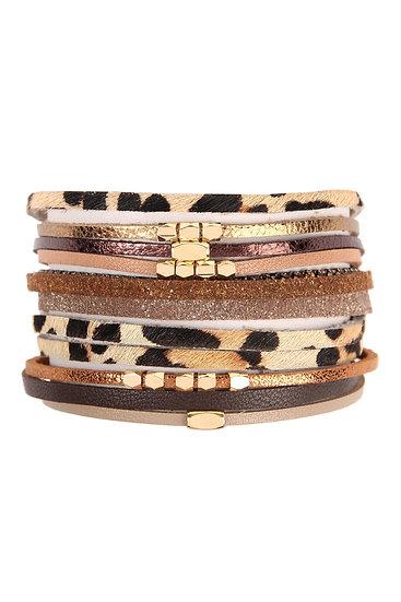 Mixed Wrap Bracelet