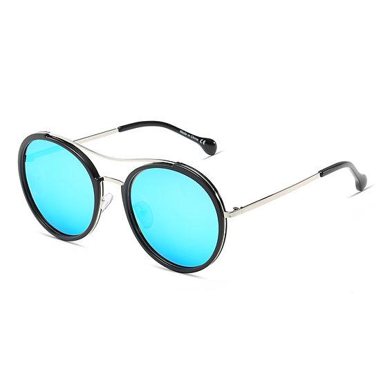 EMPORIA   CA14 - Retro Polarized Lens Circle Round Sunglasses
