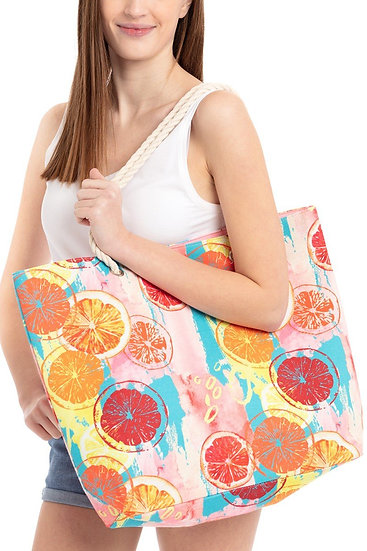 Mb0093 - Summer Fruits Beach Bag