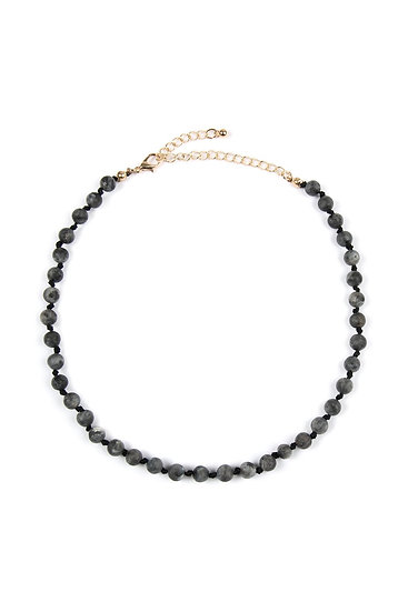 6mm Natural Stone Necklace