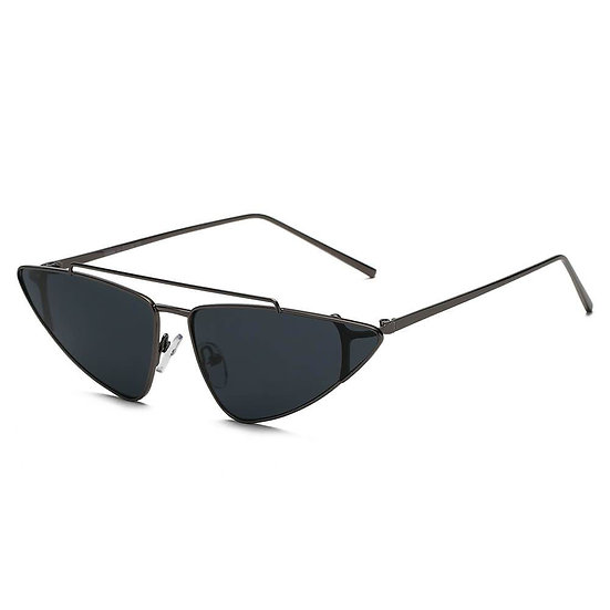 COHASSET | S3007 - Women Small Retro Vintage Cat Eye Sunglasses