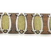Oval Pillar Bracelet 7501A
