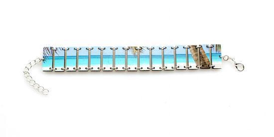 Tropical Beach Bracelet #7534A
