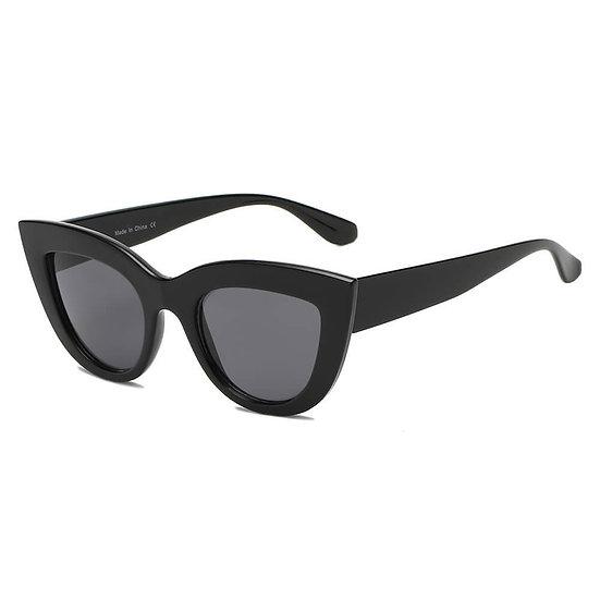 BOYDS   S1088 - Women Round Cat Eye Sunglasses