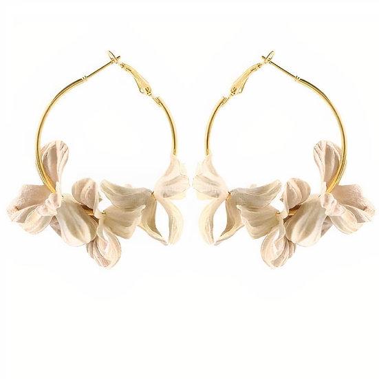 Aussie -White  Earrings