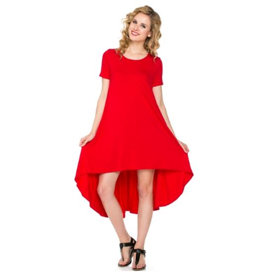 Comfy Dress -Red