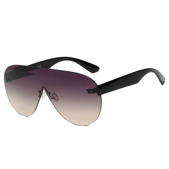 DESTIN   S2061 - Women Oversized Aviator Fashion Sunglasses
