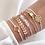Thumbnail: Stacked Bracelet Set #8