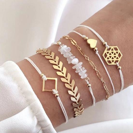 Stacked Bracelet Set #8