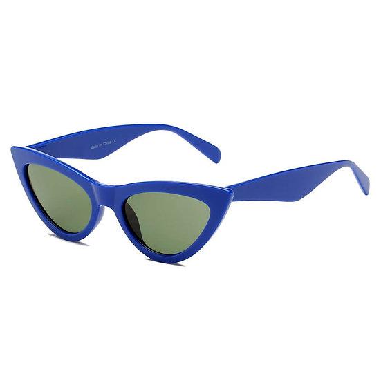 HUDSON | S108 - Women Retro Vintage Cat Eye Sunglasses