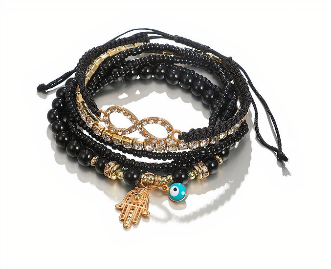 Stacked Bracelet Set #12