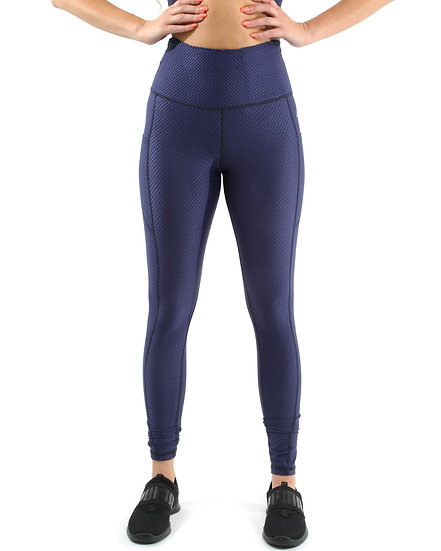 Venice Activewear Leggings - Navy [MADE IN ITALY]