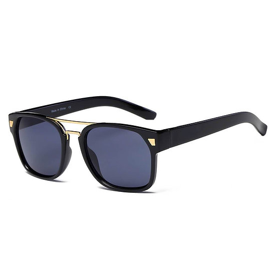 HINDMARSH | S1002 - Classic Retro Square Frame Fashion Sunglasses
