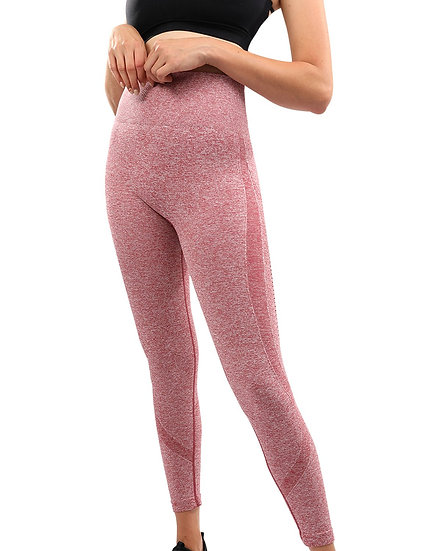 Emmery Seamless Legging - Red