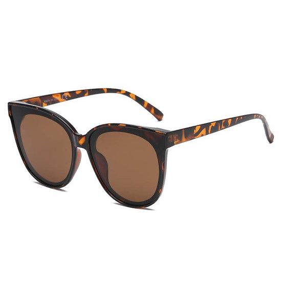 GARLAND   S1075 - Women Round Cat Eye Sunglasses