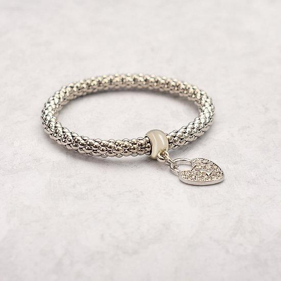 Love Me  Bracelet-Silver