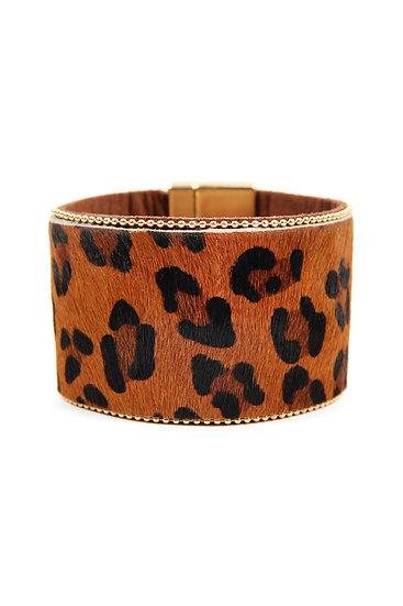 Leopard Print Bangles