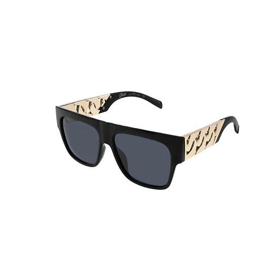 Jase New York Cache Sunglasses in Matte Black