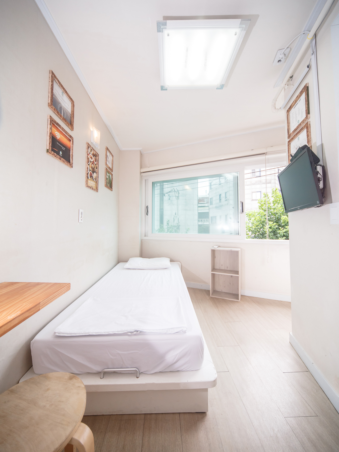 Single room, Itaewon Inn hostel