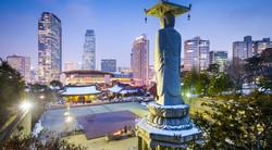 Bongeunsa Temple Seoul attractions