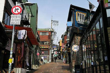 Itaewon bars restaurants Seoul