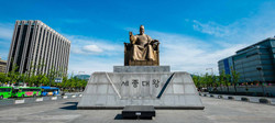 King Sejong Statue Seoul attractions